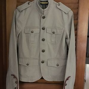 RALPH LAUREN RUGBY TAN MILITARY JACKET. 2